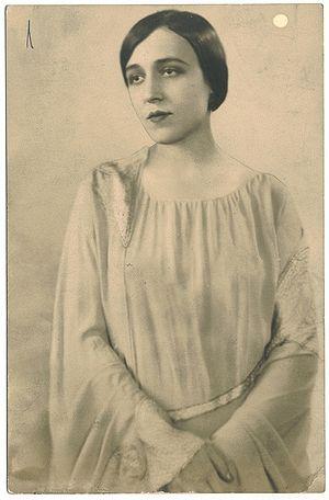 Berta Singerman - Image: Berta Singerman