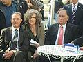 Bertrand Delanoë and YonaYahav in The inauguration ceremony renovation Paris Square in Haifa 1.jpg