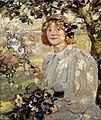 Bessie MacNicol - Under The Apple Tree 1899.jpg