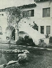Beth Sarim Outside Stairs