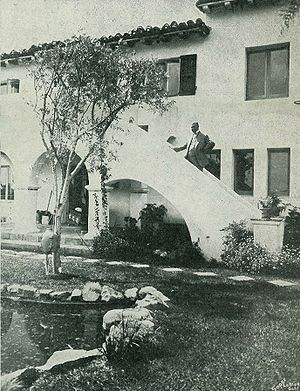 Joseph Franklin Rutherford - Beth Sarim was built in San Diego, California in 1929. Rutherford died at the property in 1942.