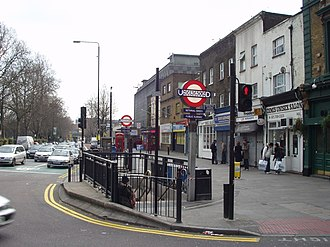 Bethnal Green - Image: Bethnal Green Tube entrance