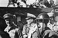 Bezoek aan Padang. Generaal Kruls en zijn gezelschap wordt door kolonel J.W. Sl, Bestanddeelnr 4826.jpg