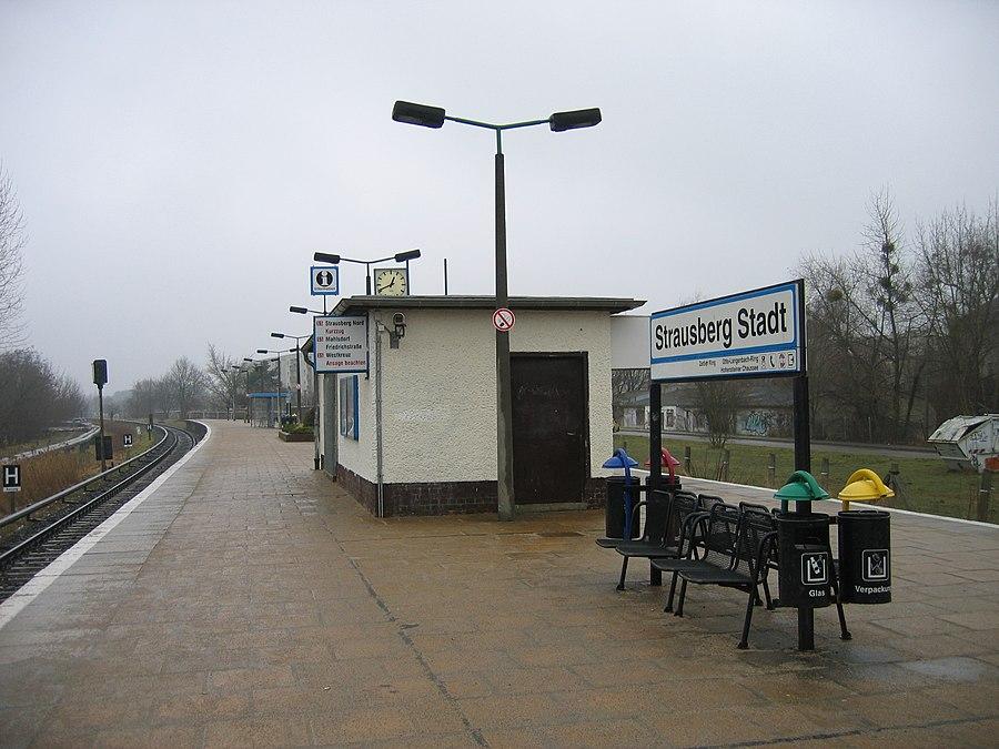 Strausberg Stadt station