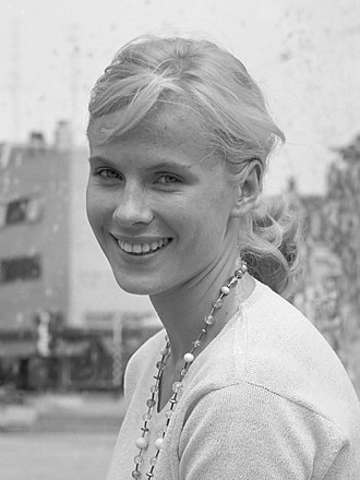 Bibi Andersson - Andersson in 1961.