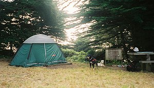 Golden Gate National Recreation Area - Image: Bicentennial Campground San Francisco