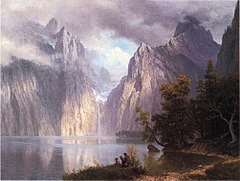 Bierstadt Albert Scene in the Sierra Nevada