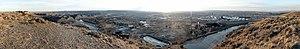 Coburn Hill - The Billings metropolitan area from Sacrifice Cliffs and Coburn Hill.