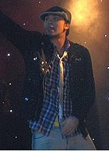 Billy Crawford in London.JPG