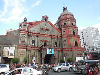 Binondo Church Roman Catholic parish church in Binondo, Manila, Philippines