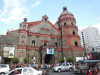 Binondo Church - Image: Binondo Church Facade
