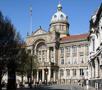 Council House, Birmingham - Birmingham Council House, Victoria Square