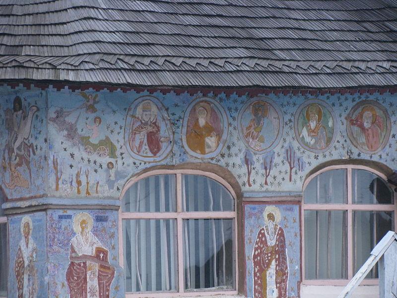 Fișier:Biserica de lemn Adormirea Maicii Domnului din satul Glambocu comuna Bascov judetul Arges Romania 8.jpg