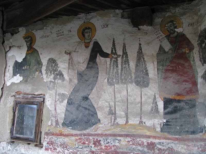 Fișier:Biserica de lemn Nasterea Domnului din satul Glambocata Deal comuna Leordeni judetul Arges Romania 24.jpg