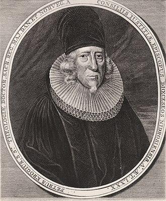 Peder Krog - Bishop Peder Krog (1654 - 1731)