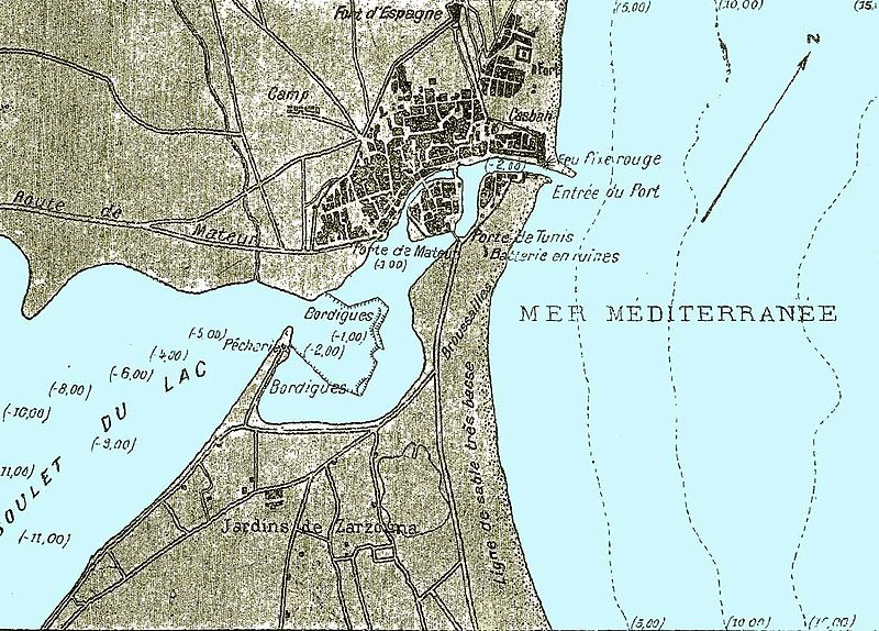 Fichier:Bizerte Port 1890.jpg