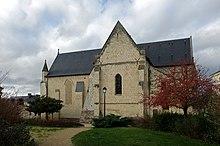 L'église Saint-Aubin de Blaison.