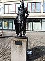Blansko, Wanklovo náměstí, socha Siegfried.jpg
