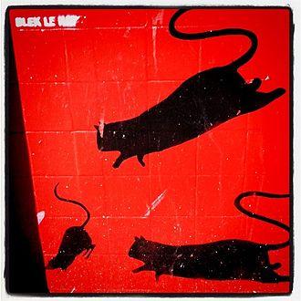 Blek le Rat - The iconic stencils of rats by Blek le Rat