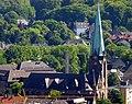 Blick vom Gasometer Oberhausen auf die St. Pankratius-Kirche Oberhausen- Osterfeld - panoramio.jpg
