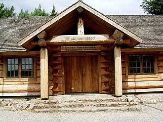 Rebild National Park - Rebild National Park log cabin