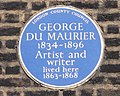 Blue plaque George du Maurier.jpg