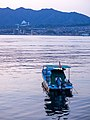 Boat on the River - Miyajima (42090424891).jpg