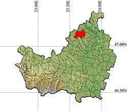 Vị trí của Bobâlna