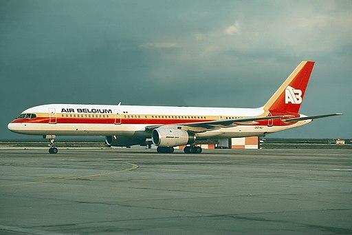 Boeing 757-23A, Air Belgium JP89591