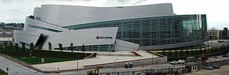 BOK Center - Streets bordering the BOK Center's back entrance are closed to traffic during events.