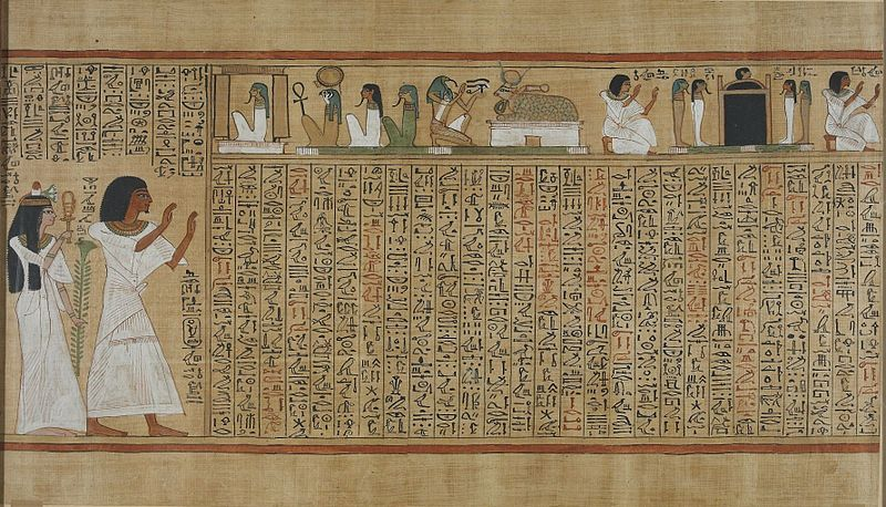 Egyptian book of the dead?