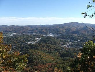 Boone, North Carolina - Boone as seen from Howard's Knob