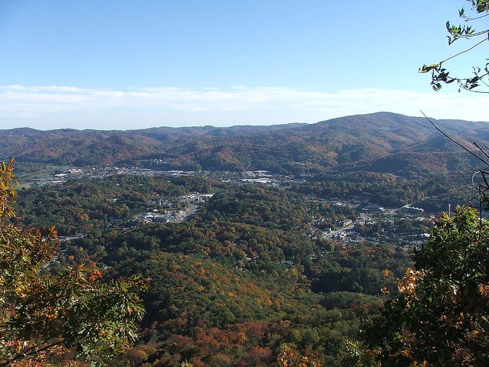Boone NC - aerial