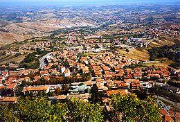 Borgo Maggiore, al norte de San Marino