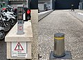 Borne escamotable automatique, rue Garibaldi (Lyon).jpg