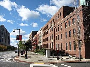 Boston University School of Education - The School of Education Building on Commonwealth Avenue