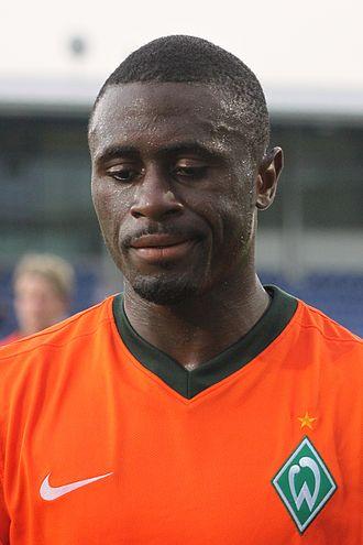 Boubacar Sanogo - Sanogo with Werder in 2009.