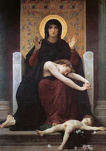 Богоматерь Утешение 1877, Страсбург, Музей изящных искусств