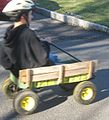 Boy riding in wagon.JPG
