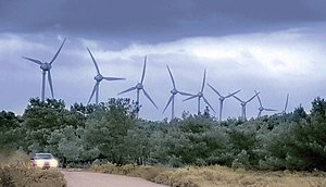 Wind power in Turkey - Bozcaada Wind Farm, Çanakkale province