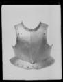Bröstharnesk, 1600-tal - Livrustkammaren - 45069.tif