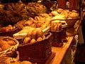 Bread for sale at Granville Island Markets.JPG