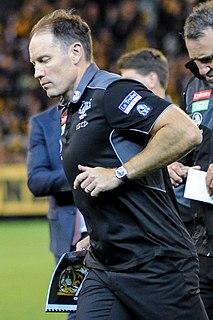 Brenton Sanderson Australian rules footballer and coach