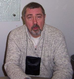 Brian Croucher - Brian Croucher at the Blake's 7 series 2 DVD launch, 2005.