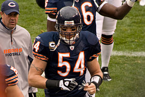 2002 Chicago Bears season - Brian Urlacher shut down the dynamic Michael Vick by sacking him twice