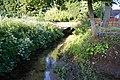 Brick footbridge over Wesley Brook - geograph.org.uk - 1353897.jpg
