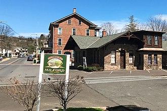 Milford, New Jersey - Bridge Street, by Railroad Avenue