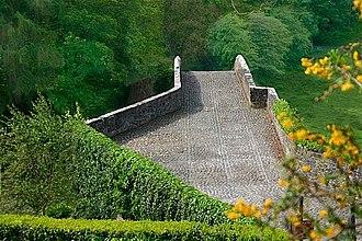 Brig o' Doon - Image: Brig o' Doon Bridge 2007 geograph.org.uk 426481