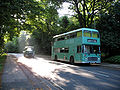 Bristol VR ECW caravan bus in Hampstead Heath, London 9 July 2007.jpg