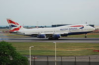 G-CIVF - B744 - British Airways